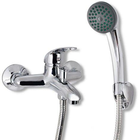 Topdeal Bad Dusche Mischbatterie Set Chrom 03728