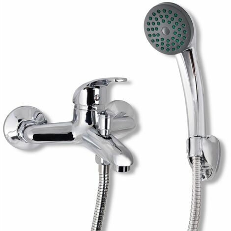 Topdeal Bath Shower Mixer Tap Kit Chrome VDTD03728