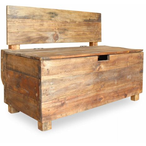 Topdeal Bench Solid Reclaimed Wood 86x40x60 cm VDTD10613