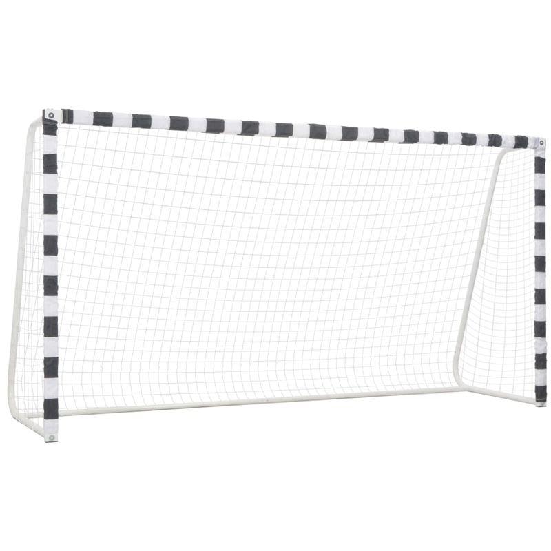 VDTD32902_FR But de football 300x160x90 cm Métal Noir et blanc - Topdeal