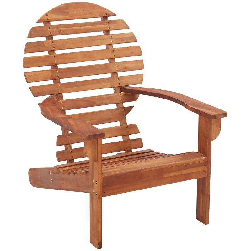 VDTD45458_FR Chaise Adirondack Bois d'acacia massif - Topdeal