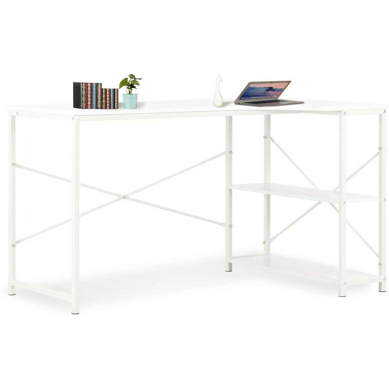 Topdeal Computertisch Weiß 120x72x70 cm 07553