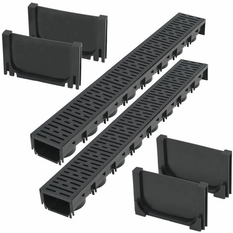 Topdeal Drainage Channels Plastic 2 m VDTD18395