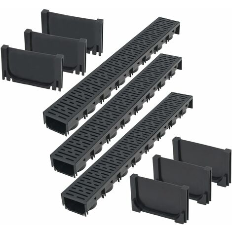 Topdeal Drainage Channels Plastic 3 m VDTD18396