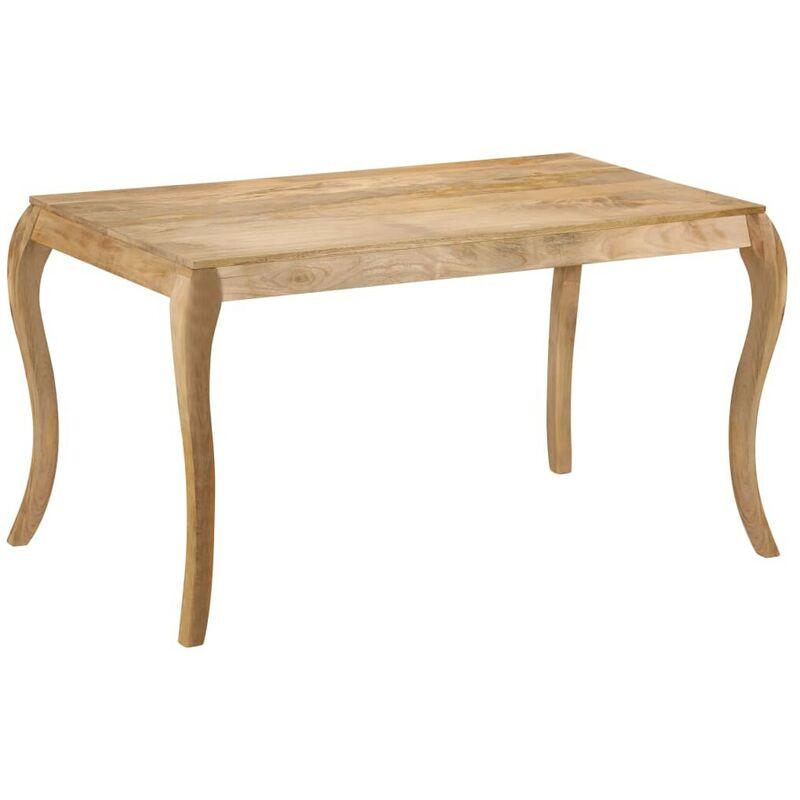 Topdeal Esstisch 135x75x76 cm Massivholz Mango 13028