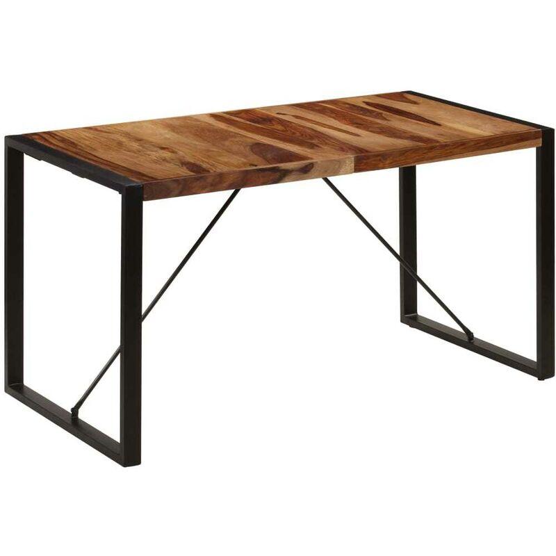 Esstisch 140 x 70 x 75 cm Massivholz 13306 - Topdeal