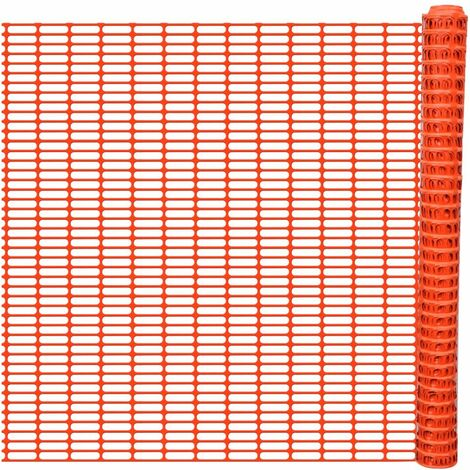 Topdeal Garden Fence 50 m Orange VDTD03862