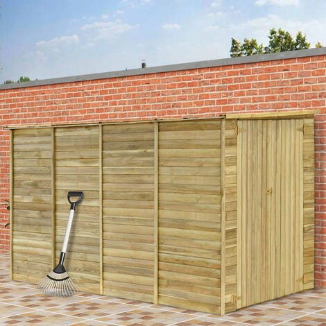 Topdeal Garden House Shed 315x159x178 cm Impregnated Pinewood VDTD30001