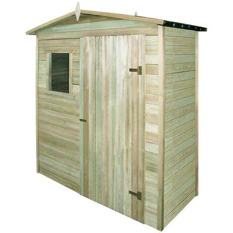 Topdeal Garden Storage Shed FSC Impregnated Pinewood VDTD27677