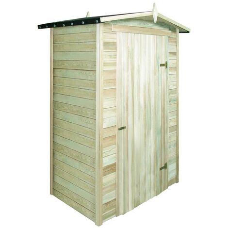 Topdeal Garden Storage Shed FSC Impregnated Pinewood VDTD27678