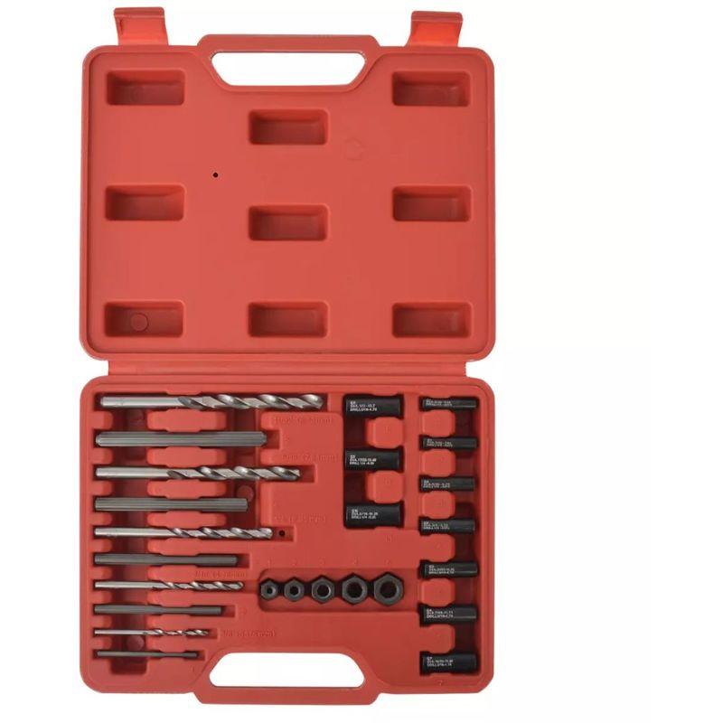 VDTD07819_FR Kit d'extracteurs de boulons Acier 25 pièces - Topdeal