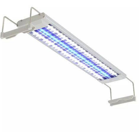 Topdeal Lampe à LED pour aquarium 50-60 cm Aluminium IP67