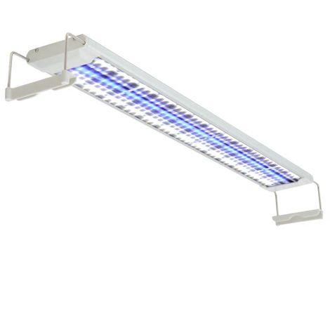 Topdeal Lampe à LED pour aquarium 80-90 cm Aluminium IP67