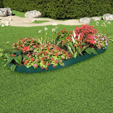 Topdeal Lawn Edgings 10 pcs Green 65x15 cm PP VDTD46391
