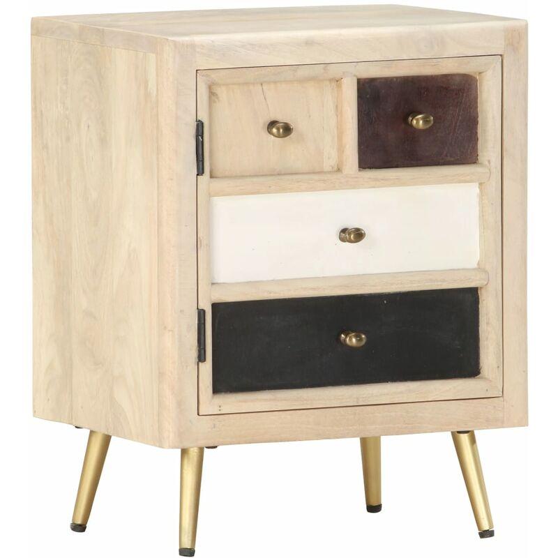 Nachttisch 40x30x50 cm Mango Massivholz 36833 - Topdeal