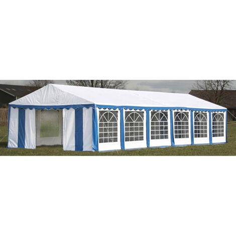 Topdeal Party Tent 12 x 6 m Blue VDTD06756