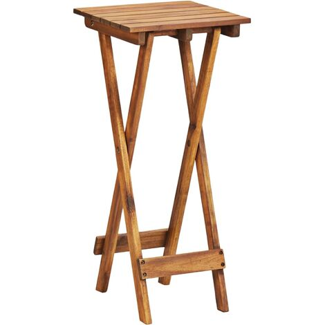Topdeal Plant Stand 30x30x67 cm Solid Acacia Wood VDTD45599