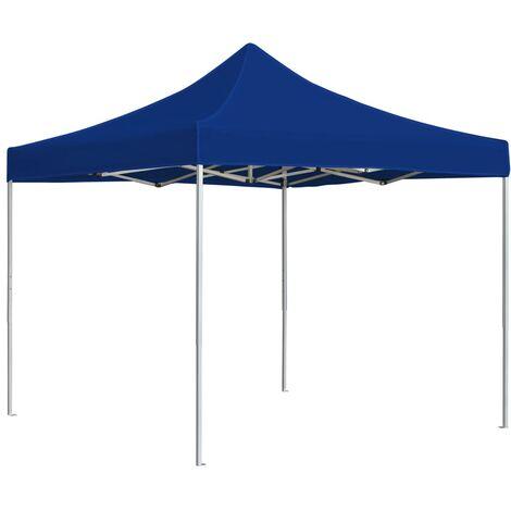 Topdeal Professional Folding Party Tent Aluminium 2x2 m Blue VDTD46775