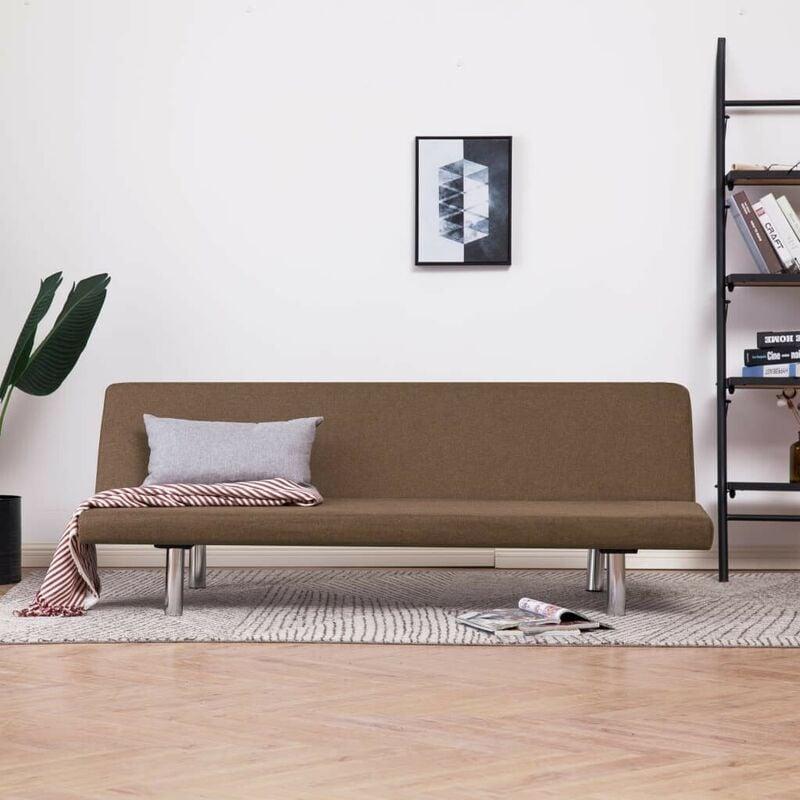 Schlafsofa Braun Polyester 23480 - Topdeal