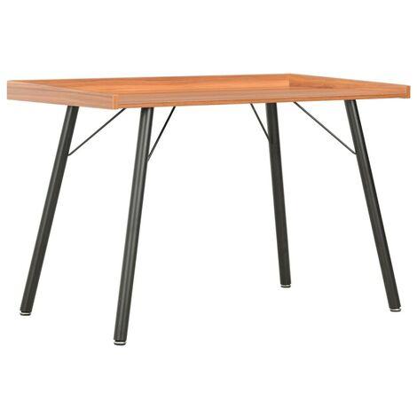 Topdeal Schreibtisch Braun 90x50x79 cm 07563