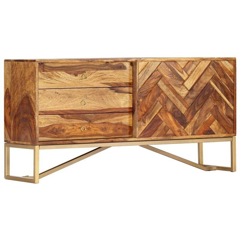 Sideboard 118 x 30 x 60 cm Massivholz 13845 - Topdeal