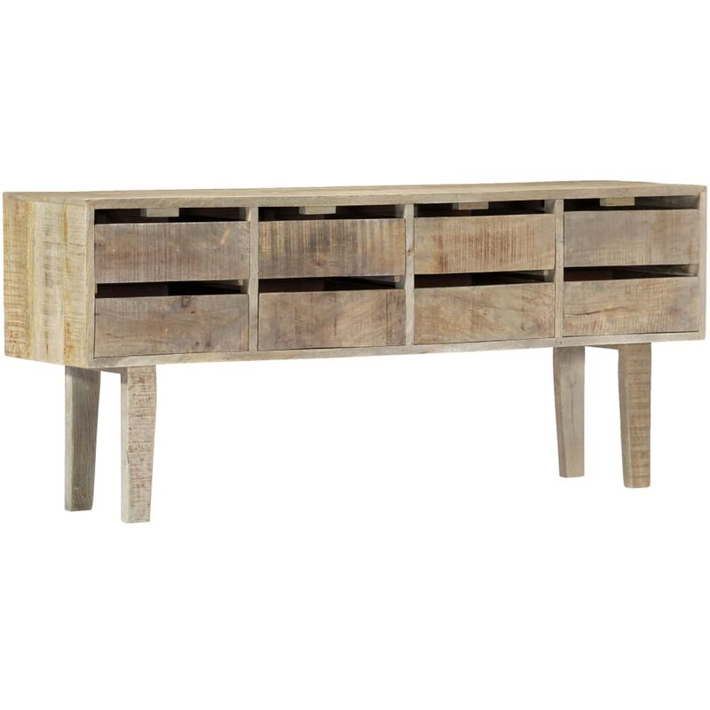 Sideboard 140x30x60 cm Massivholz Mango 13763 - Topdeal