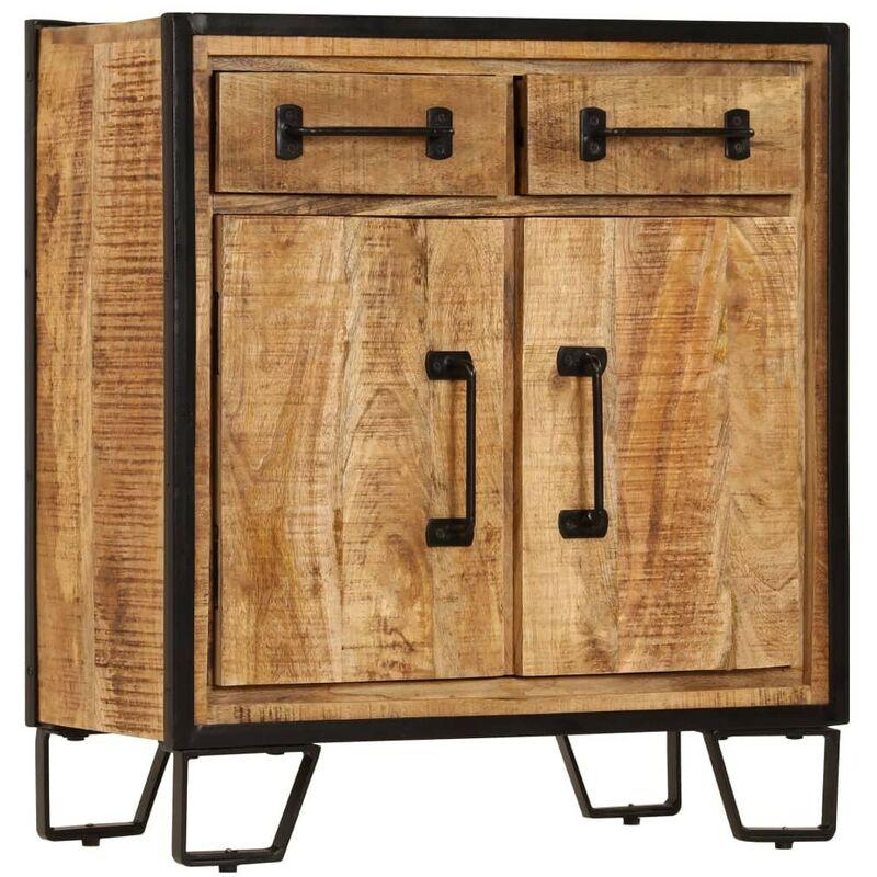Sideboard 65 x 30 x 70 cm Massivholz Mango 13226 - Topdeal