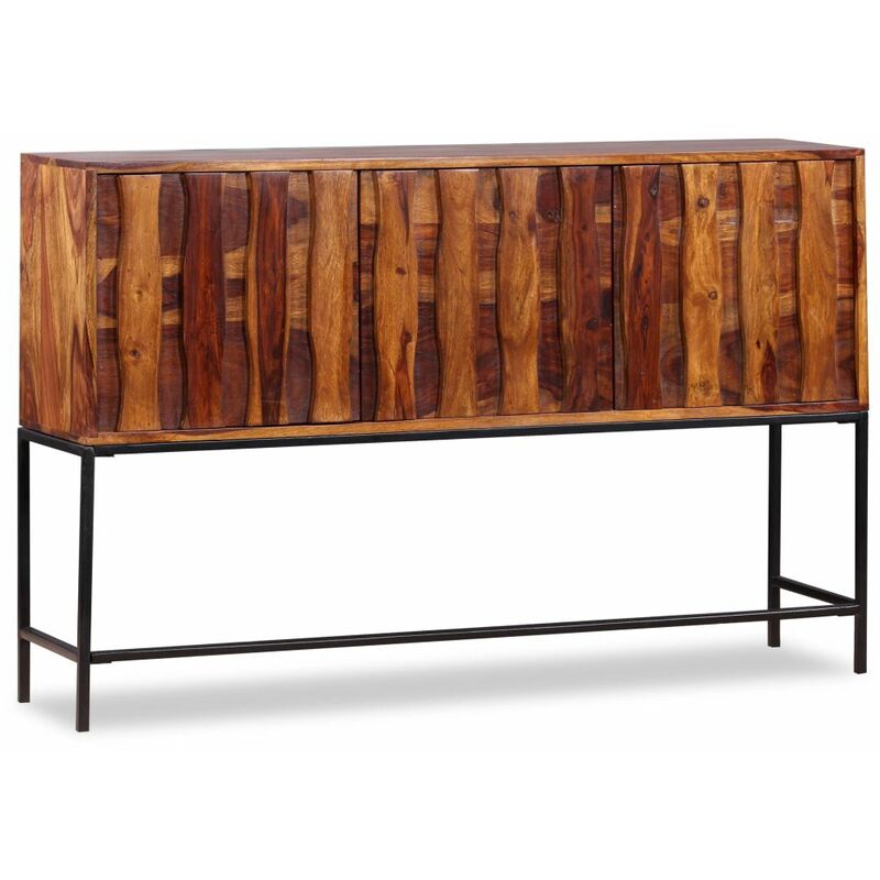 Topdeal Sideboard Massivholz 120 x 30 x 80 cm 10465