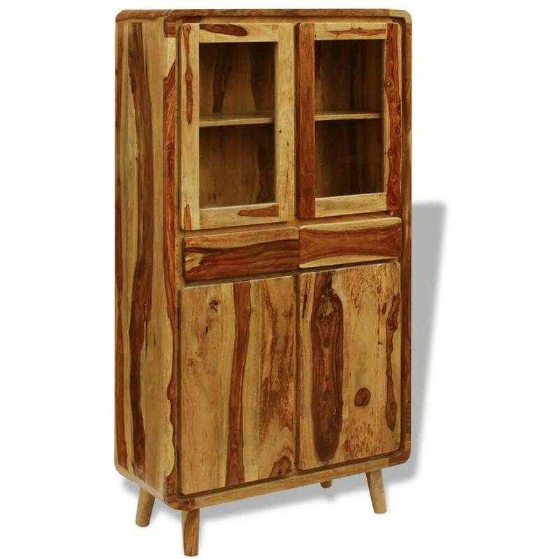 Topdeal Sideboard Massivholz 90x40x175 cm 09755