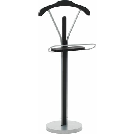Topdeal Suit Stand 45x35x107 cm Black and Grey VDTD12646