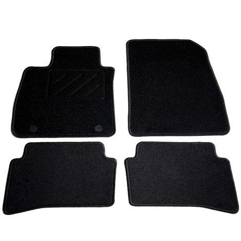 Topdeal VDTD01852_FR Ensemble de tapis de voiture 4 pcs pour Renault Clio IV