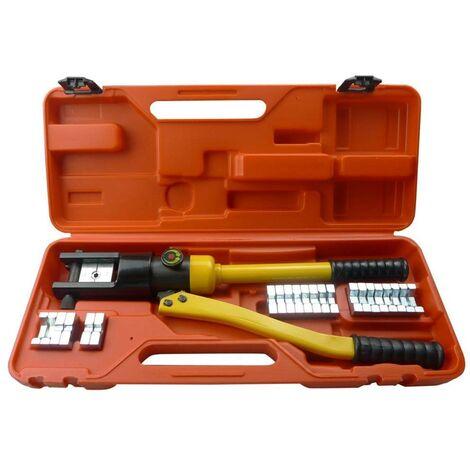 Topdeal VDTD03446_FR Coffret de presse à sertir/ de sertissage hydraulique