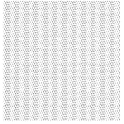 Topdeal VDTD04415_FR Panneau de grillage de jardin Acier inox 50x50 cm 20x10x2 mm