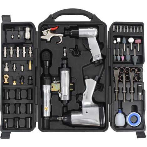 Topdeal VDTD04769_FR Kit d'outils pneumatiques 70 pcs