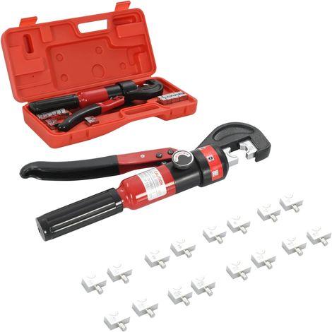 Topdeal VDTD05678_FR Pince à sertir hydraulique 4-6-8-10-16-25-35-60 mm2