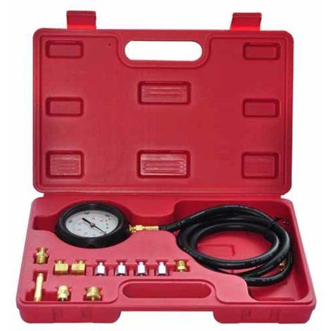 Topdeal VDTD07589_FR Kit compressiomètre d'huile 13 pièces