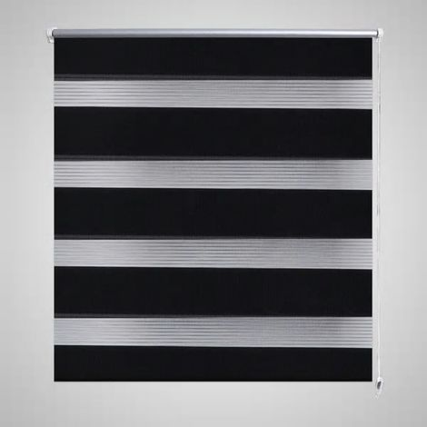 Topdeal VDTD08111_FR Store enrouleur tamisant 50 x 100 cm noir