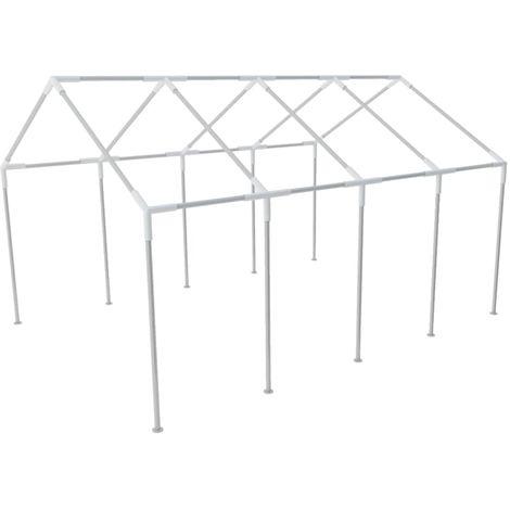 Topdeal VDTD26120_FR Structure de tente chapiteau pavillon jardin 8 x 4 m