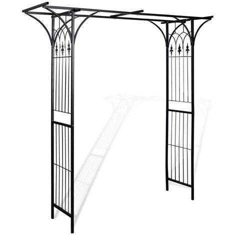 Topdeal VDTD26244_FR Arche de jardin 200 x 52 x 204 cm