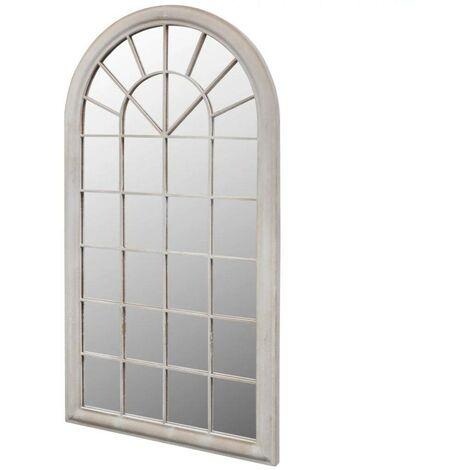 """main image of """"Topdeal VDTD26409_FR Miroir de Jardin Arche rustique 116 x 60 cm Intérieur et Extérieur"""""""