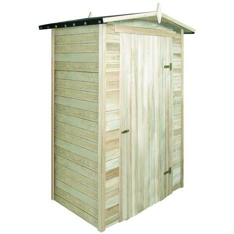 Topdeal VDTD27678_FR Abri de stockage de jardin Bois de pin imprégné FSC