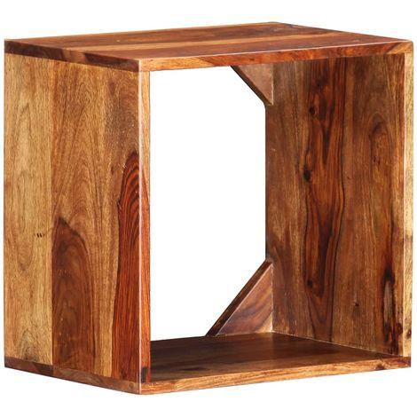 Topdeal VDTD36775_FR Table d'appoint 40x30x40 cm Bois solide