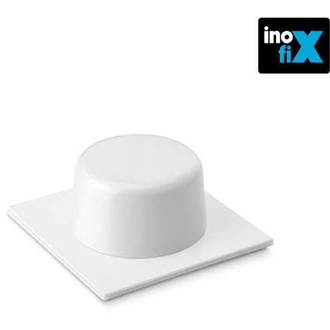 Tope adhesivo blanco (blister 2 unid) inofix