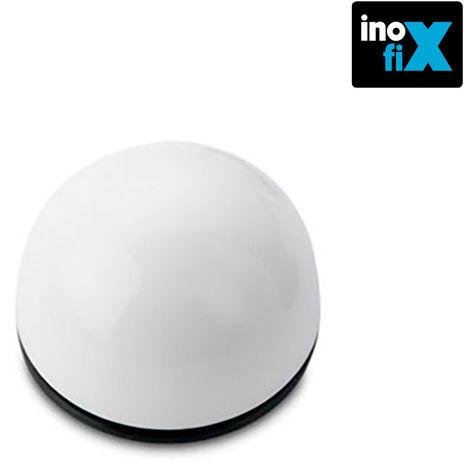 Tope adhesivo flexible blanco (blister 2 unid) inofix