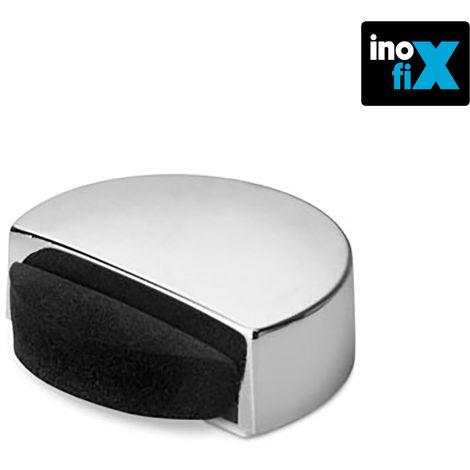 Tope adhesivo silencioso cromado blister inofix