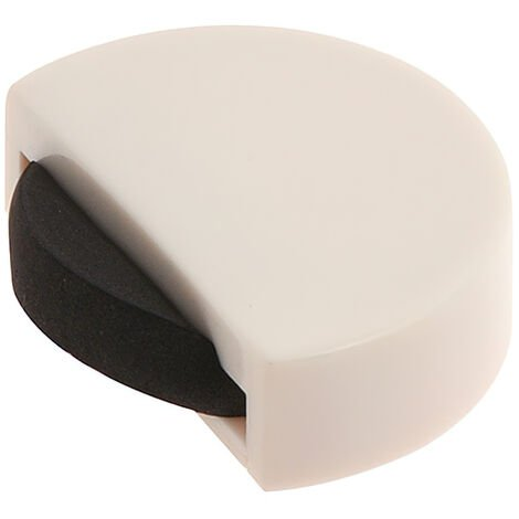 Tope Puerta Adhesivo Silencioso Blanco