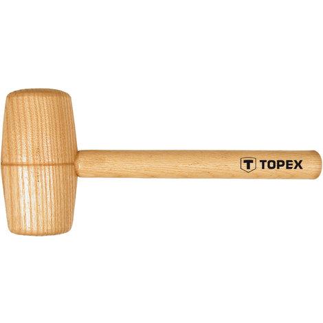 TOPEX 02A057 Maza de madera cabeza redonda 70mm