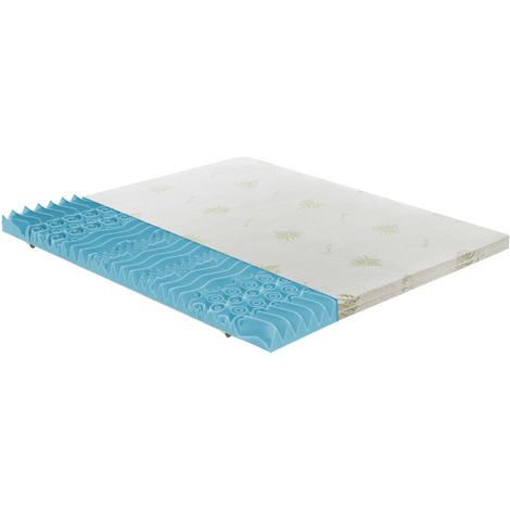Topper memory foam – Depth 5cm – removable cover - orthopedic