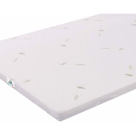 Topper Memory Foam Mattress 160X190 Queen Size Double Aloe Vera Coating TOP3