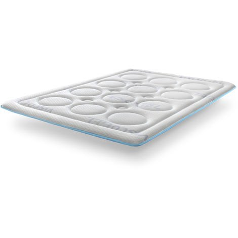 """main image of """"Topper Viscogel Bubble Confort de SonnoMattress, Altura 4 cm"""""""